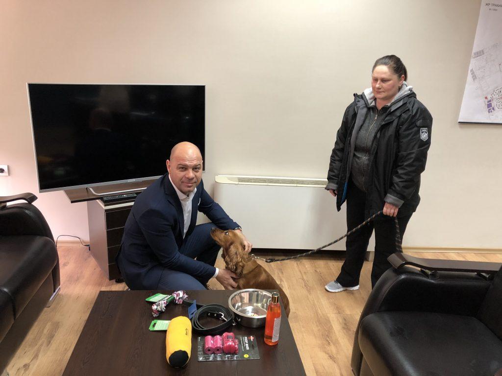 """В """"Тракия"""" наградиха пореден собственик на новорегистрирано куче"""