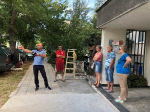 """Костадин Димитров и жители на """"Тракия"""" обсъдиха благоустрояването на предблокови пространства"""