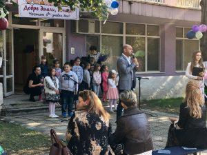 """Костадин Димитров откри учебната година в детска градина """"Кремена"""" в """"Тракия"""""""