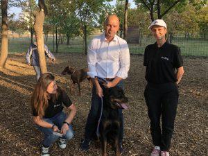 """Официално откриха шестата площадка за домашни кучета в """"Тракия"""""""