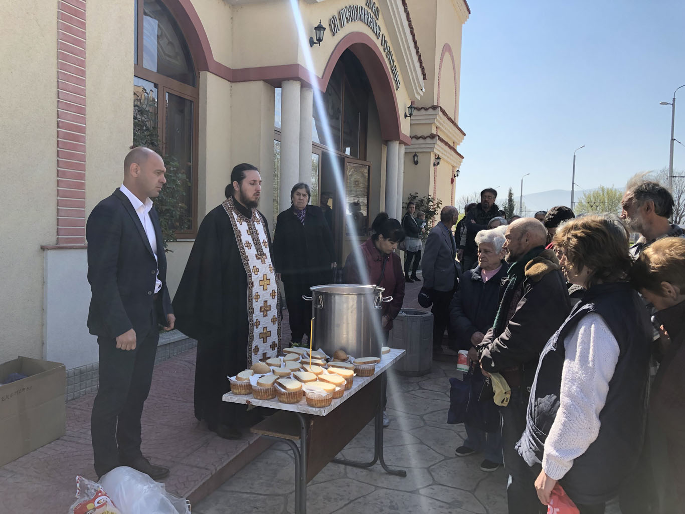 """На Благовещение в """"Тракия"""" дадоха курбан за здраве и благополучие"""