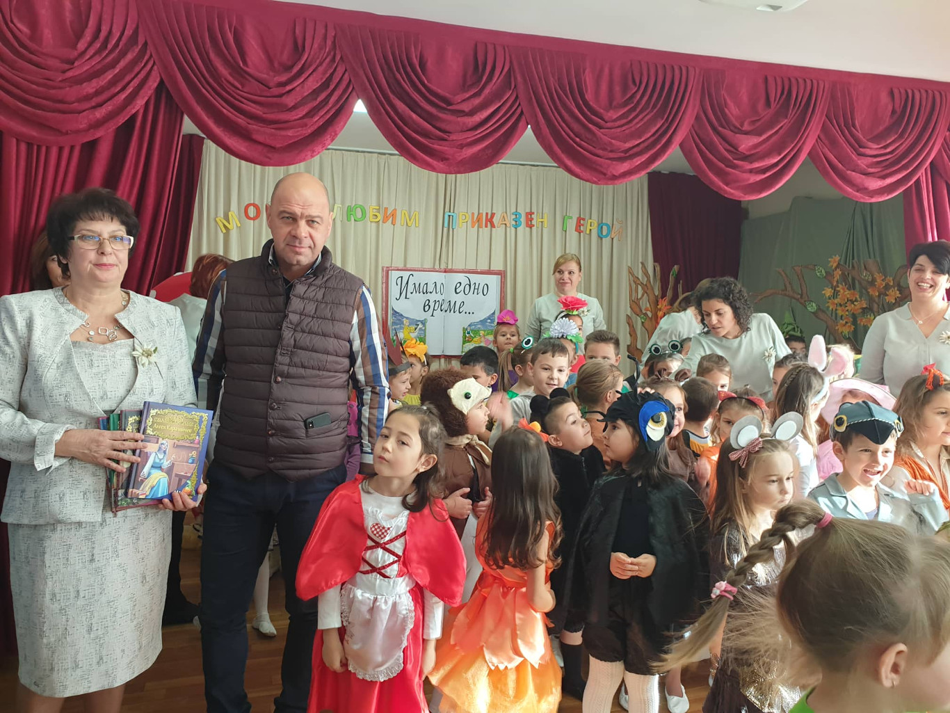 """Костадин Димитров присъства в ДГ """"Еделвайс"""" на старта на седмицата на четенето"""