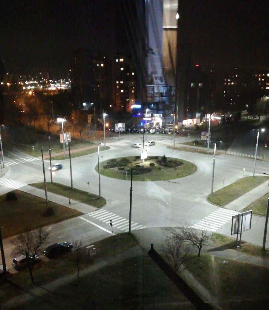 "Възлово кръстовище в ""Тракия"" с ново осветление"