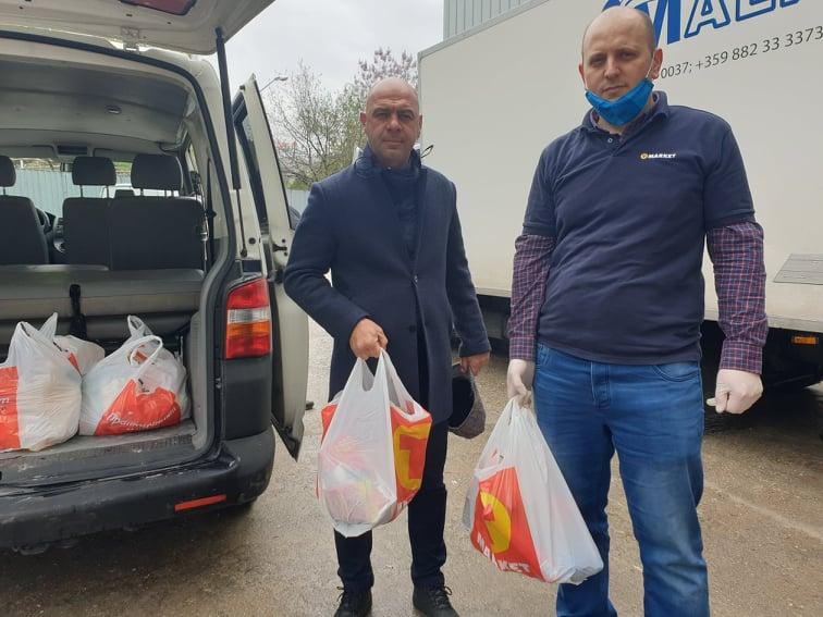 Верига магазини помага на крайно нуждаещи се в Пловдив