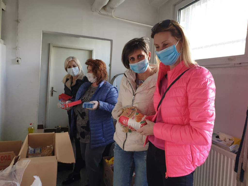 Хранителна банка за нуждаещи се семейства в Тракия
