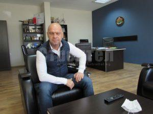 Кметът Костадин Димитров