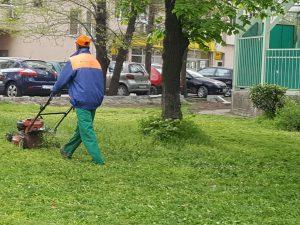 График за косенето на площи в район Тракия