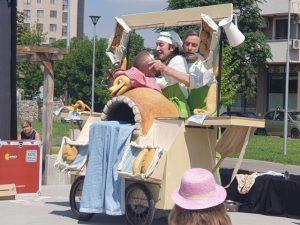 """Куклен театър в парка в ЖК """"Тракия"""""""
