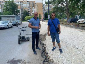 """Нови паркинги изграждат в район """"Тракия"""""""