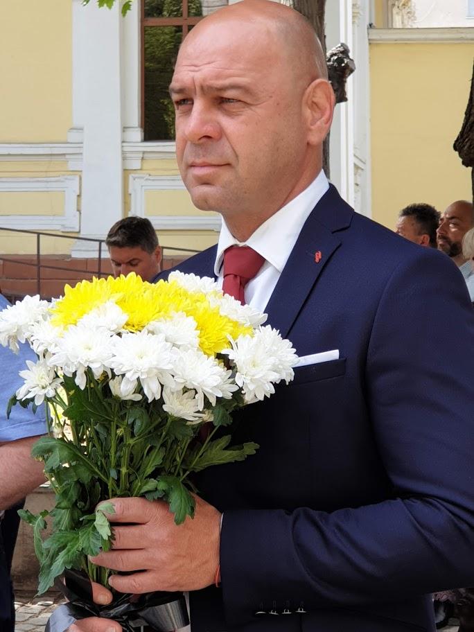 Костадин Димитров изпрати поздравителен адрес за 24-ти май
