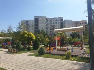"Нови площадки за игра изградиха в детска ясла в ""Тракия"""