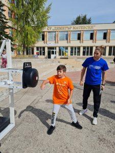 Четирикратен европейски шампион откри седмия Европейски ден на спорта в училище