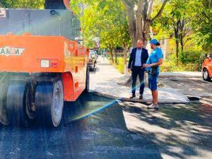 """Дългоочакваният ремонт на улица """"Братан"""" в зона А-6 в най-младия пловдивски район е към края си."""